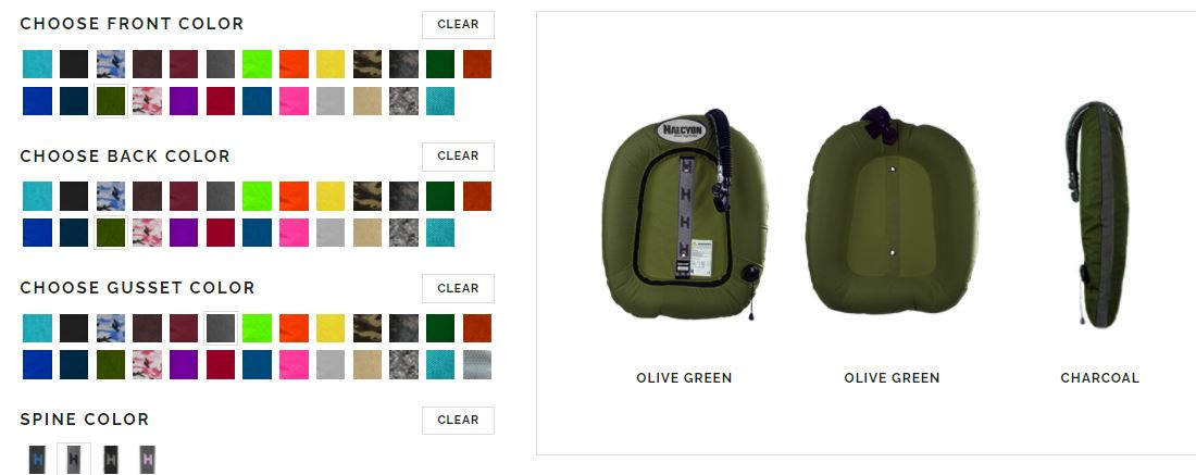 Evolve Olive Green
