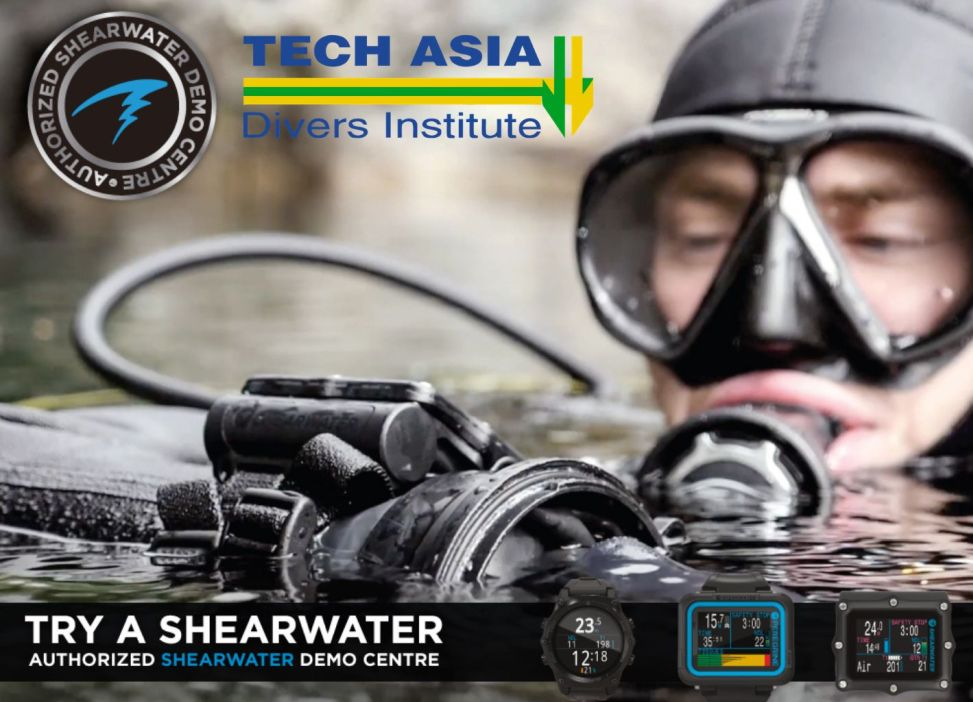 Try a Shearwater  at Tech Asia