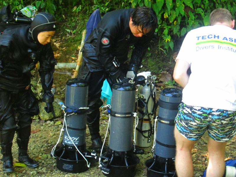 GUE Technical Diving Courses puerto galera philippines