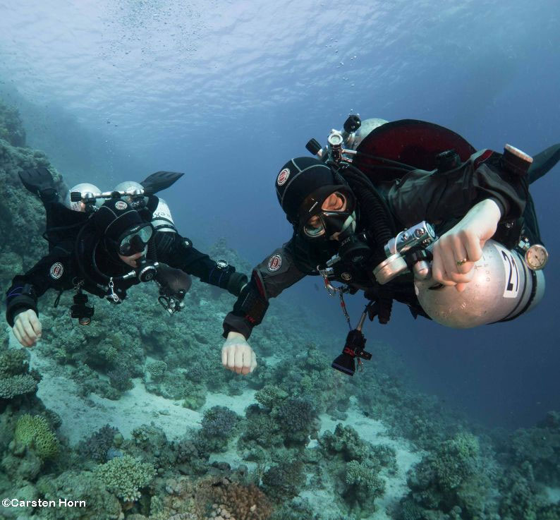 GUE Technical diver 1 Course puerto galera philippines