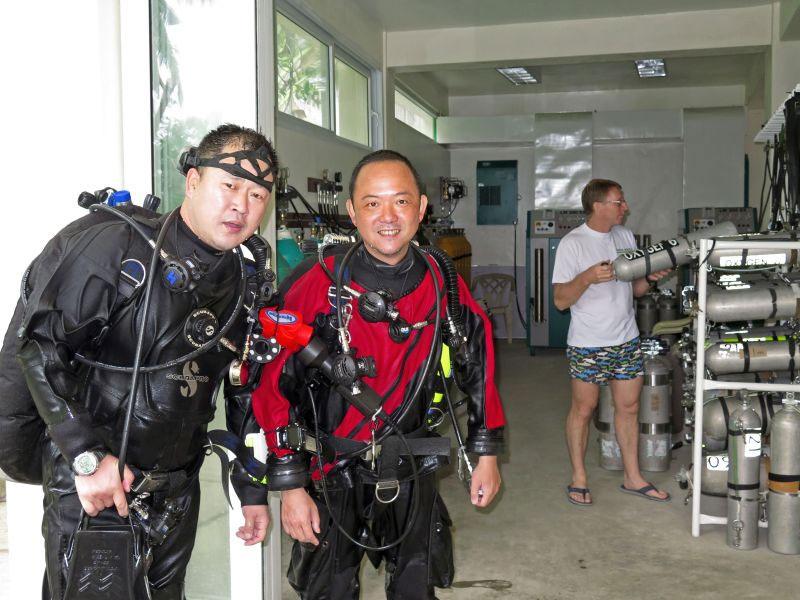 IANTD Advanced Nitrox Course puerto galera philippines