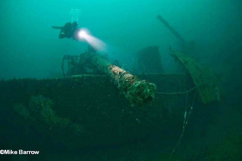 IANTD Tek Lite Wreck and Technical Wreck Diver puerto galera philippines