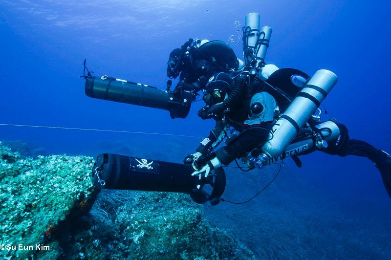 IANTD Tek Open Water DPV Diver puerto galera philippines