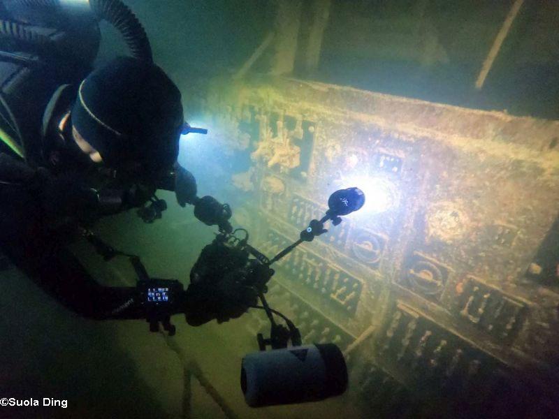 TDI Advanced Wreck Diver course puerto galera philippines