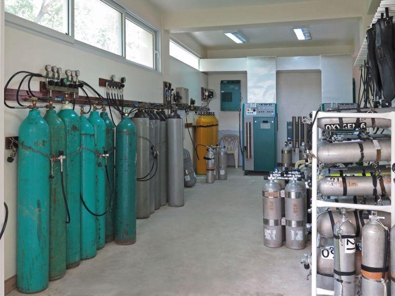 TDI Gas Blender Advanced Gas Blender Puerto Galera Philippines