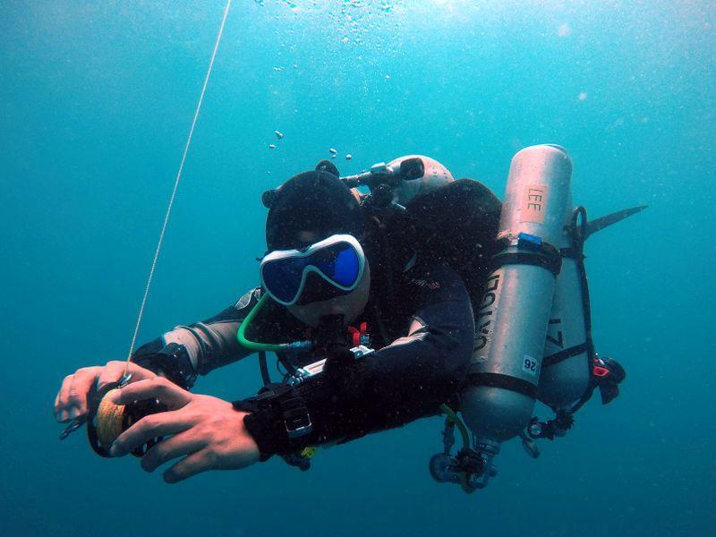 intro to tech diving puerto galera