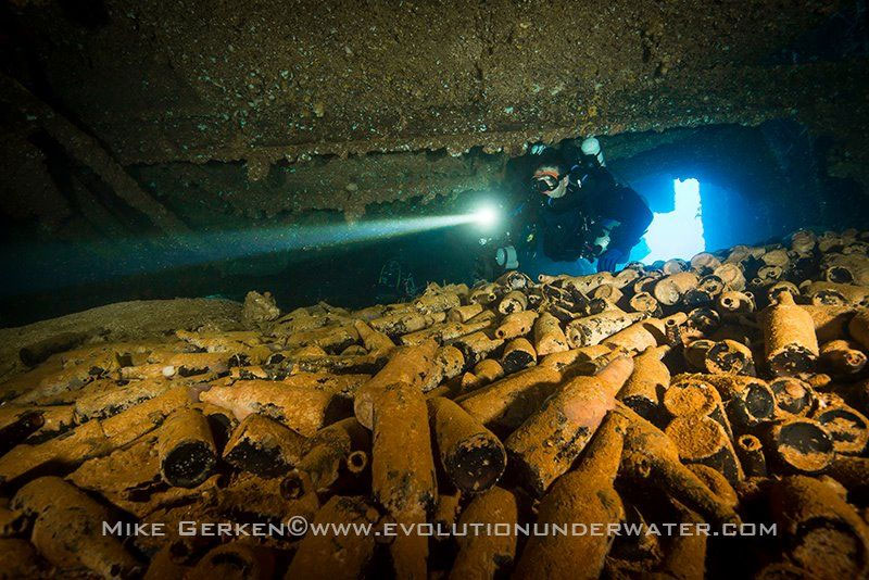 tech diving truk lagoon
